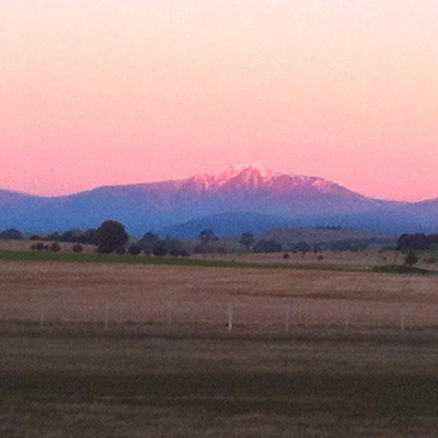 Mt Buller from Mansfield, Australia