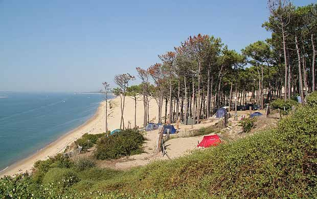 Jonathan Knight, the editor of the new Cool Camping guide to French campsites,   selects his favourites on the Atlantic coast.