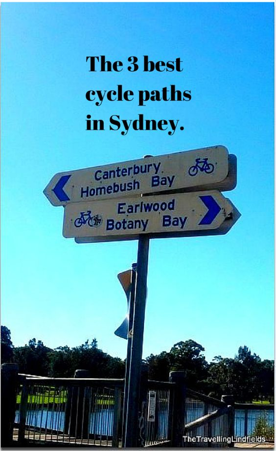 Cycling in Sydney: Are these the 3 best cycle paths in Sydney?