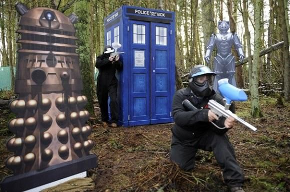 Paintballing Game Zones | Bedlam Paintball Doctor Who