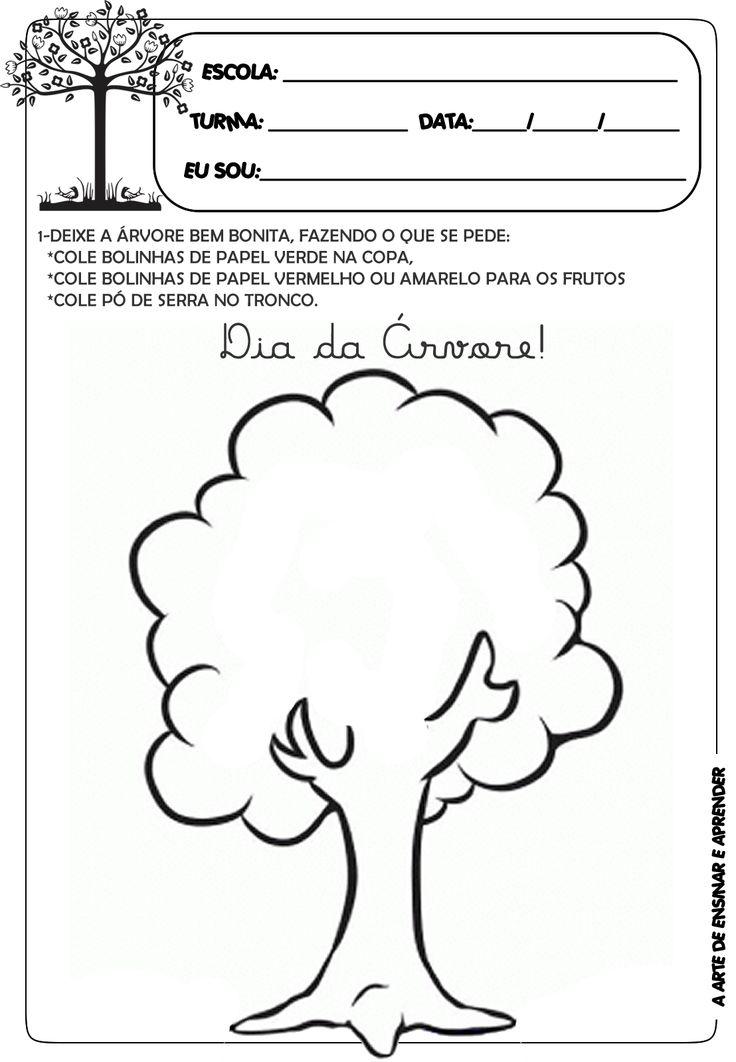 Atividade temática - dia da árvore