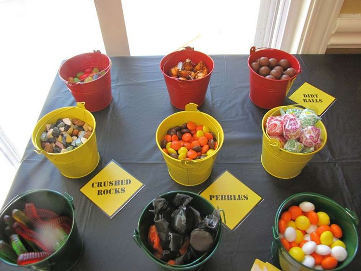 Construction party Birthday Party Ideas | Photo 8 of 28