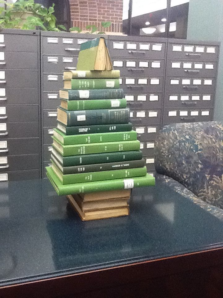 Miniature book tree