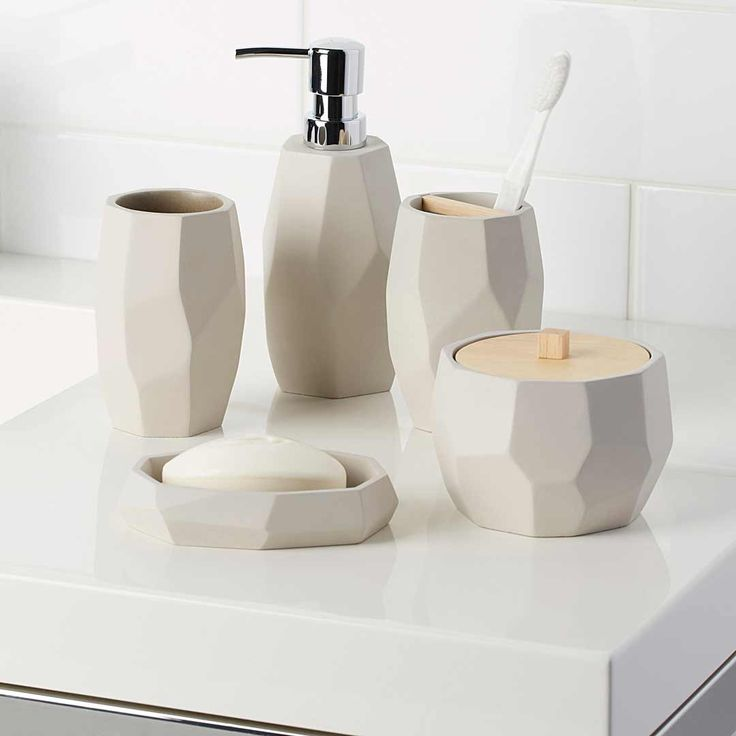 crystal bathroom accessories sets%0A Bathroom Accessories at La Maison Simons online store