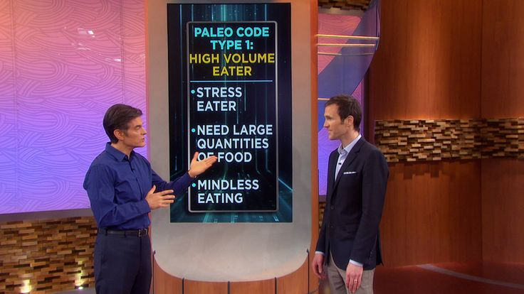 Find Your Personal Paleo Code, Pt 1: Learn how to lose weight and get healthy the caveman way! Dr. Oz has customized Paleo plans for your lifestyle, body type and genetic blueprint.