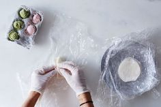 How to Make Your Own Mochi Ice Cream (& Spare Yourself from Trader Joe's)  Now you see the ice cream, now you don't.