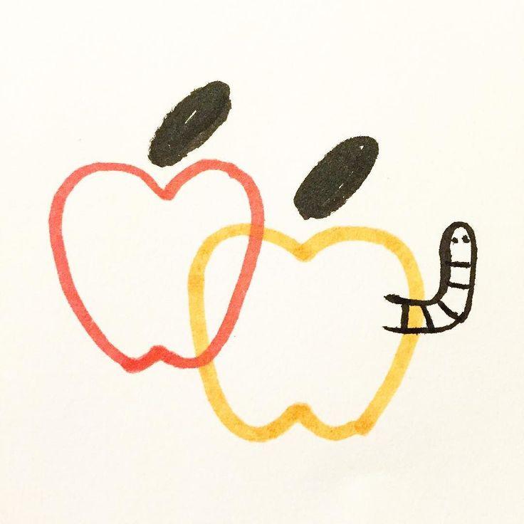 #apples #sketch by joeypasko