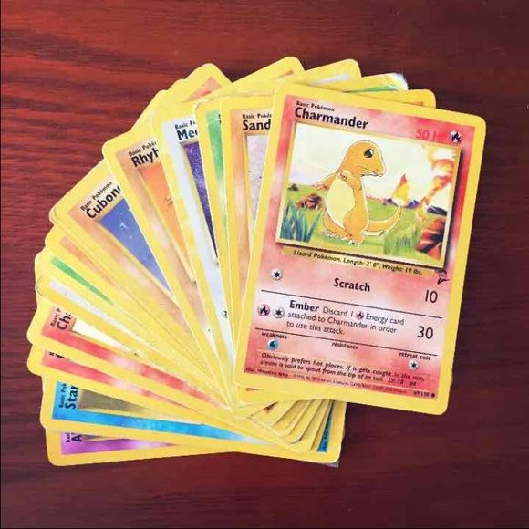 1999 Original Pokemon Cards -25 cards- Cross posted from Mercari (i would rather sell them on there btw) i just went through all of my cards and found some that im willing to part with. These cards came out in 1999 and some of the are the Second Set editions. Its hard for me to part with anything pokemon of mine.   If you have any questions, please ask.   Price is negotiable but it has to be reasonable   I bundle ❤️ Pokemon Other