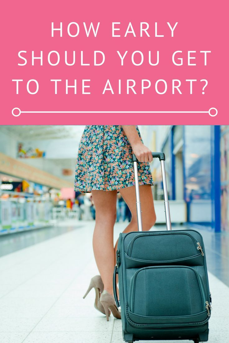 How early should you get to the airport? Whether you are going on a domestic trip or an international vacation, come learn about how early you should plan to arrive at the airport.