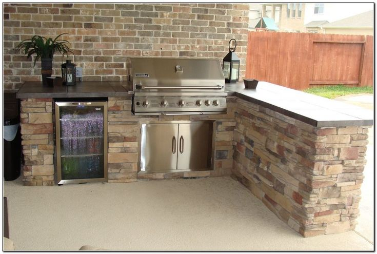 Best 25 bbq island kits ideas on pinterest outdoor for Pre built outdoor kitchen islands