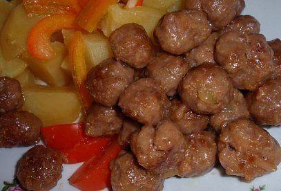 Smažené masové kuličky-Ča wan-c´ - Recepty.cz - On-line kuchařka