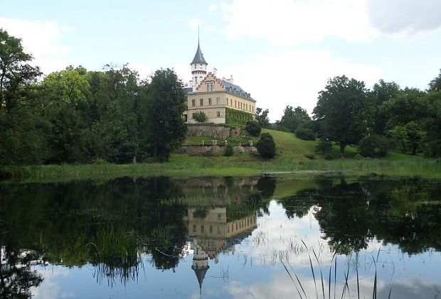 Raduň castle in Silezia, Czech republic.