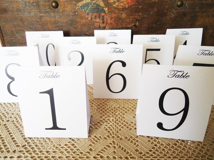 White+Table+Numbers+1+to+12+Tent+Style+Wedding+Birthday+Party+Table+Decorations+