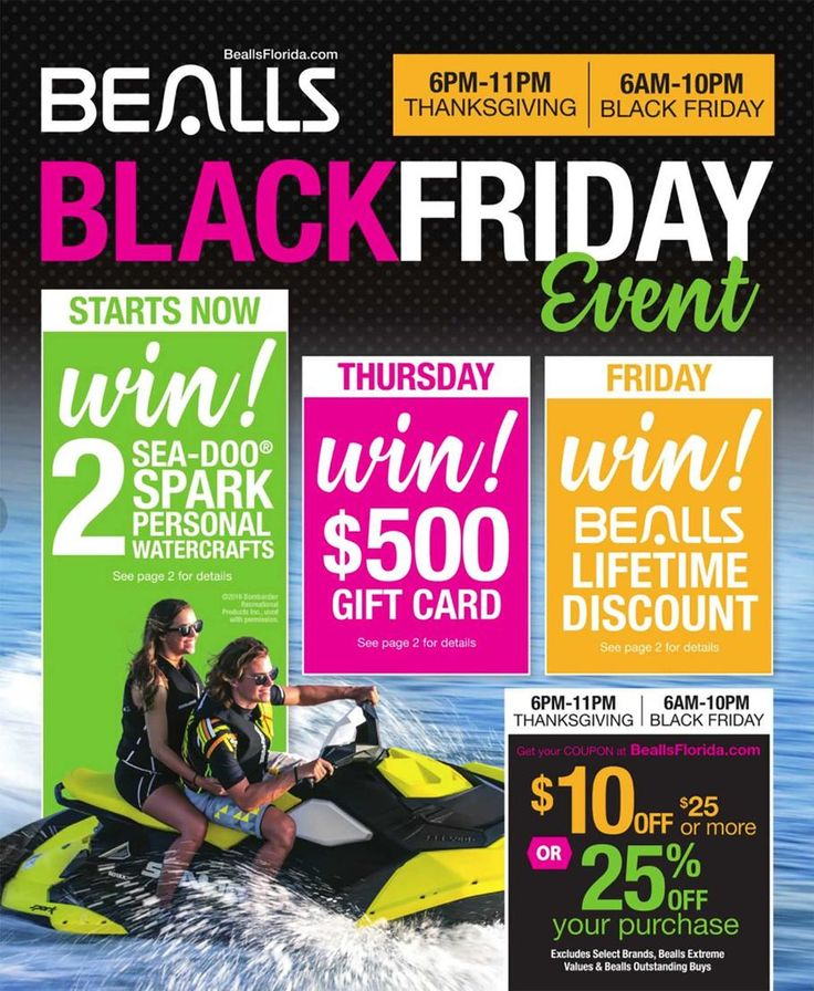 Bealls Black Friday Sales 2017