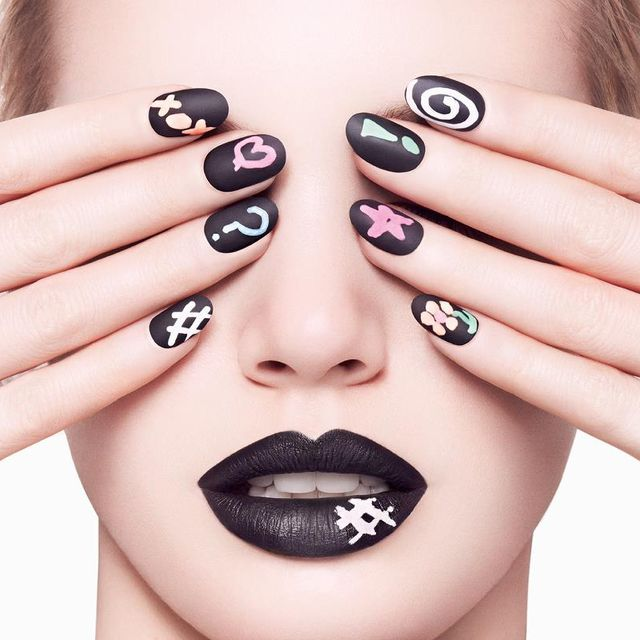 Chalkboard Manicure by Ciaté, a kit to turn your nails into chalkboard-style fashion statements.