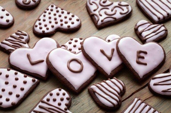 Валентинки своими руками Шоколадные сердечки