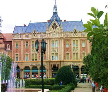 Simbol al Satmarului, hotelul Dacia pe vremea cand autoritatile pretuiau valorile acestuia....