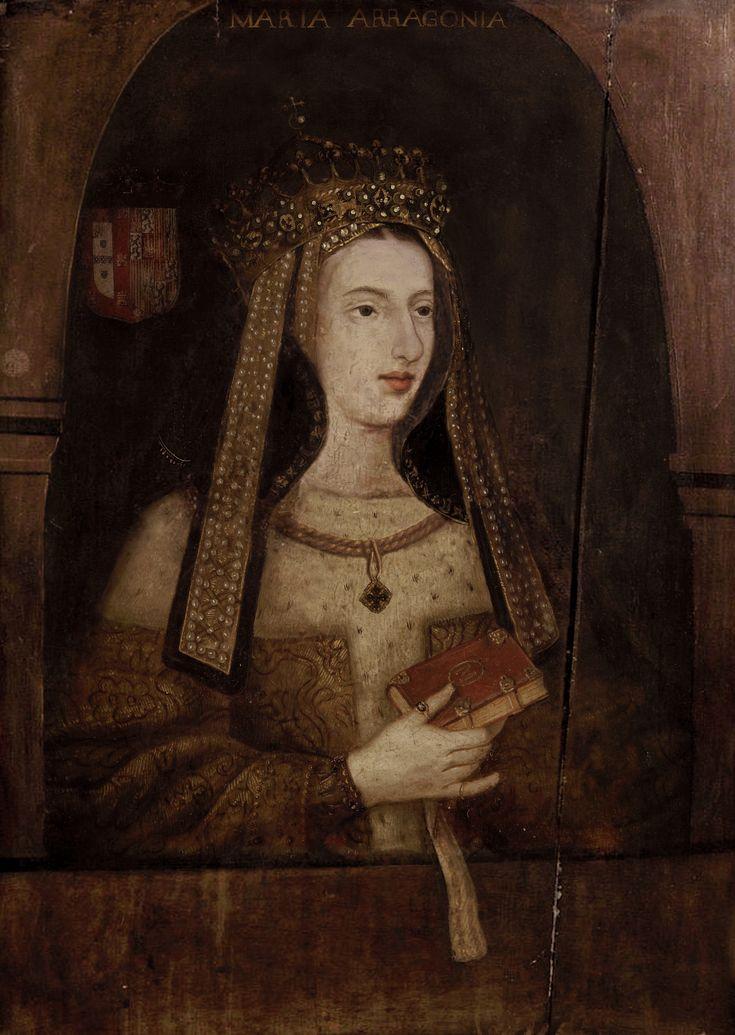 A RAINHA D. MARIA I de Portugal (A PIEDOSA - Lx 17/12/1734 - Rio de Janeiro 20/03/1816). Filha do n/ Rei D. José I , o Reformador (1714-1777) e de D. Mariana Victória de Áustria. Foi Princesa da Beira (Portugal) e do Brasil  casando com D. Pedro III, seu tio. Foi a 1ª rainha governante, de 1777/1816. Demite o Marquês de Pombal. Enlouquece em 1791 depois da morte de D. Pedro III e de seu filho mais velho. - # Diccionário Enciclopédico da História de Portugal -vol. I.