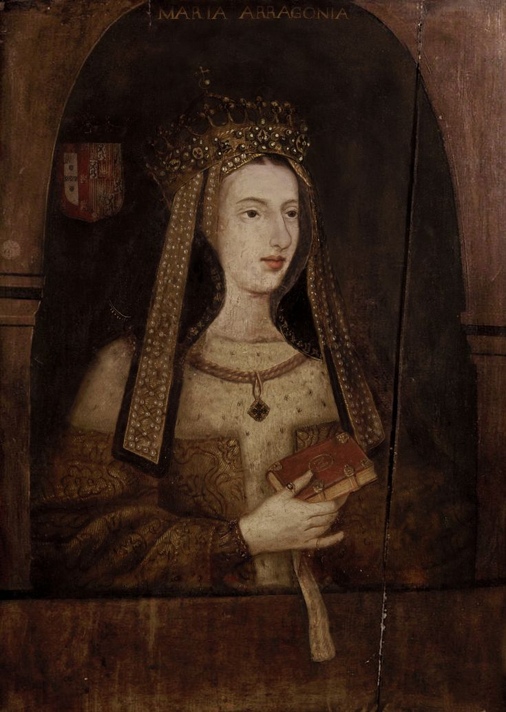 Maria of Aragon (29 June 1482 – 7 March 1517) was an infanta of Aragon and Castile, daughter of Isabella I of Castile and Ferdinand II of Aragon. She was the second wife of Portuguese King Manuel I, thus queen consort of Portugal from her marriage on 30 October 1500 until her death.