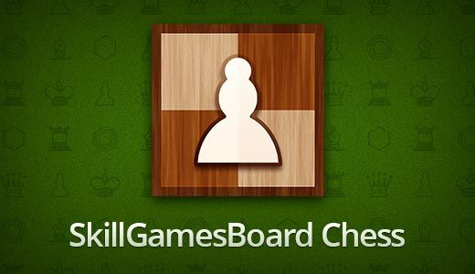 Improve your logical thinking as you play online chess against your friends or random opponents from any corner of the world!  http://toomkygames.com/download-free-games/chess-by-skillgamesboard