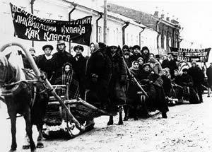 La deportazione dei kulaki
