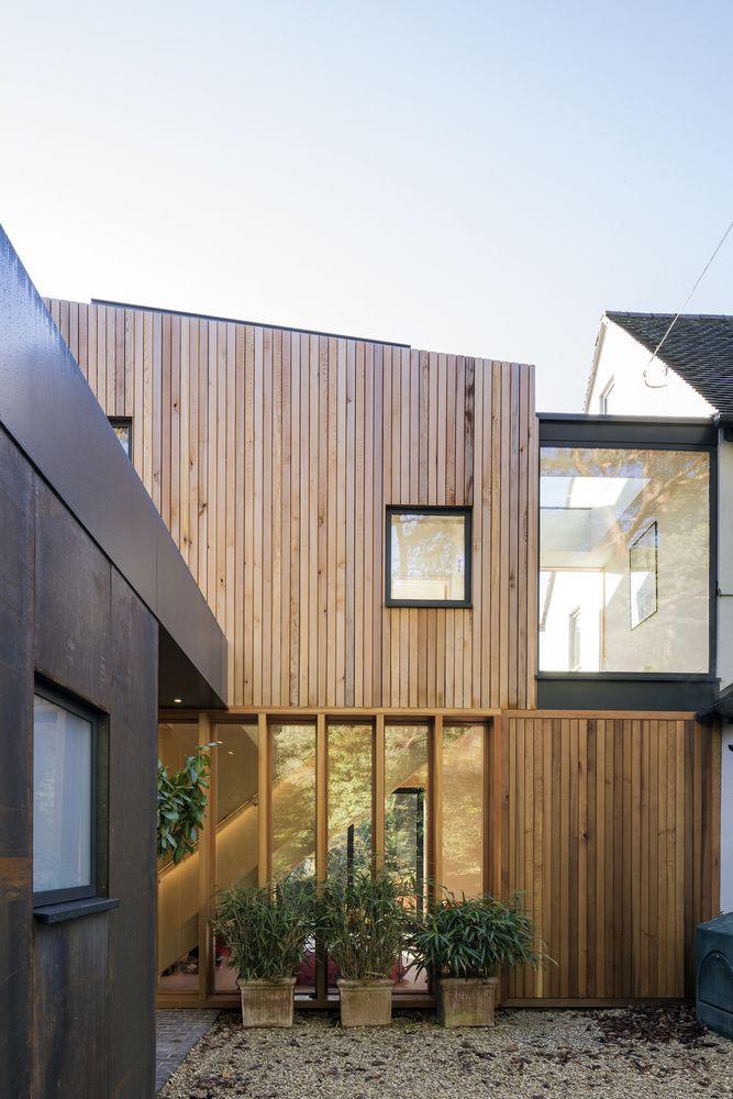Galeria De Casa De Huespedes Paddock Brow Blee Halligan Architects 10 Casa De Huespedes Casas Exteriores Caseros
