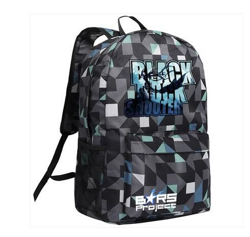 Anime BLACK ROCK SHOOTER Cosplay Anime Men and Women Backpack Fashion Student Campus Birthday Gift