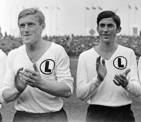 2 légendes du Legia Varsovie