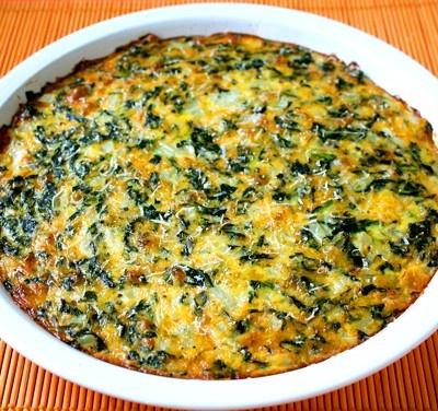 Crustless Spinach Quiche Recipe | MyNaturalMarket