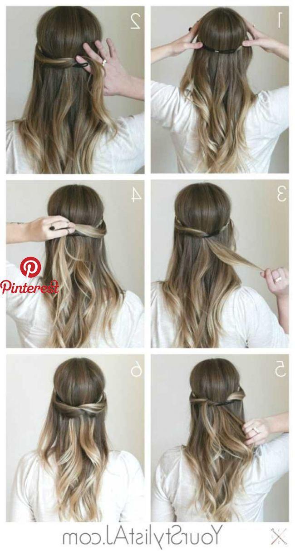 Mittellang Einfache Frisuren Zum Nachmachen