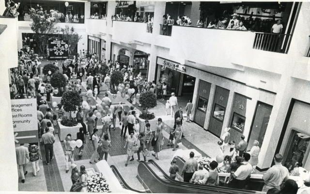 Highland mall, Austin Texas opening day 70's