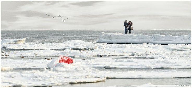 Зимний пляж, Одесса