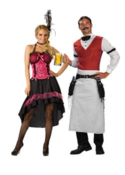 Couples Saloon costumes