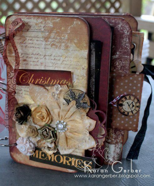 182 best Christmas mini albums images on Pinterest | Christmas ...