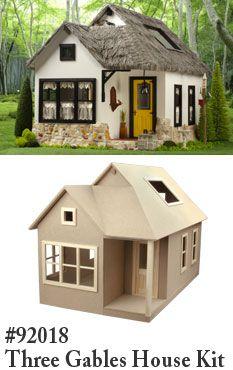 Links to 'miniatures.com'; an American DollsHouse miniatures shop.
