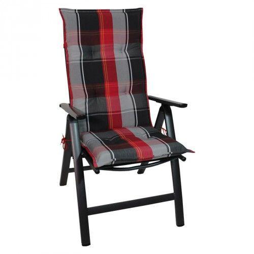Coussin de Chaise Extérieur ETHAN (Rouge: