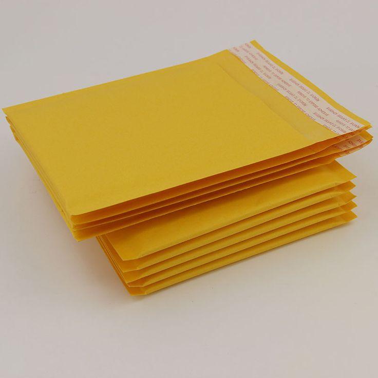 (160*160 MM) 10 pcs/lot Kraft Bulle Mallrrs E-mailng Enveloppe Sacs Bubble Annonces Capitonnées Enveloppes Sacs