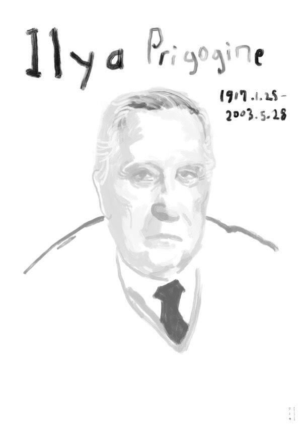 Ilya Prigogine 1917.1.25-2003.5.28