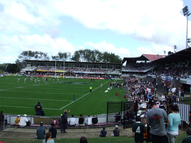 Brookvale Oval, Manly. I wish I could get there regularly.