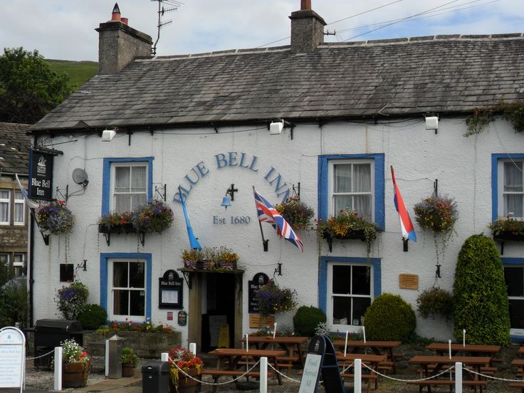 The Blue Bell Inn, Kettlewell, Wharfedale, Yorkshire Dales.   Walked here from Starbotton for an excellent lunch...
