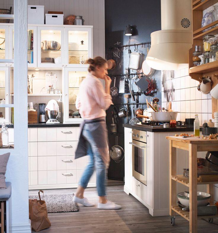 Ikea Online Küchen. hyttan ikea witte plinten en tussenstukken kök ...