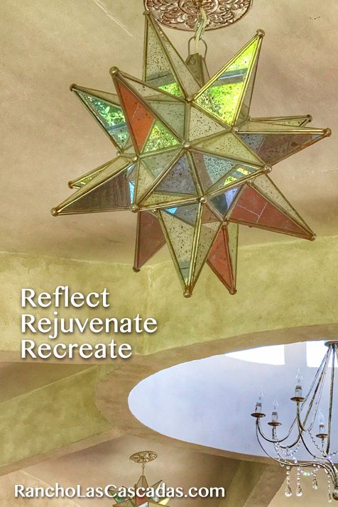 reflect, rejuvenate, recreate, star, mexican folk art, yoga studio