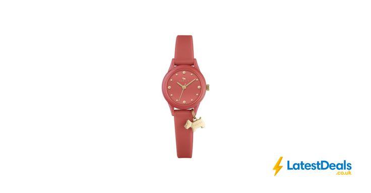 Radley Ladies Watch It Papaya Silicone Strap Watch, £35 at Watches2u