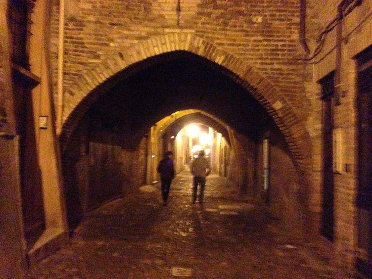 #Ferrara via delle #volte