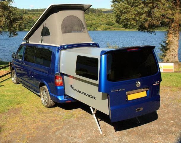 Amazing VW Doubleback Camper