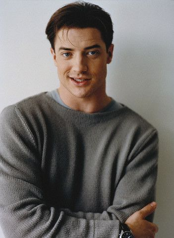 Brendan Fraser ♡ My idea of a total HUNK of BURNING LOVE!! What can I say!? I have IMPECCABLE taste!
