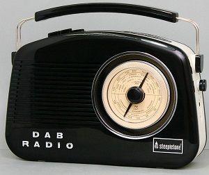 Dorset DAB Radio Black/Cream