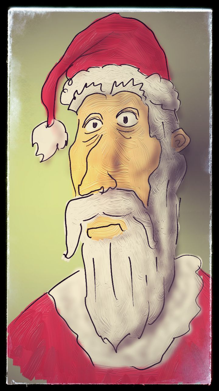Santas selfie.