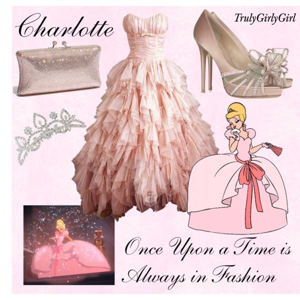 Disney Style: Charlotte, created by trulygirlygirl