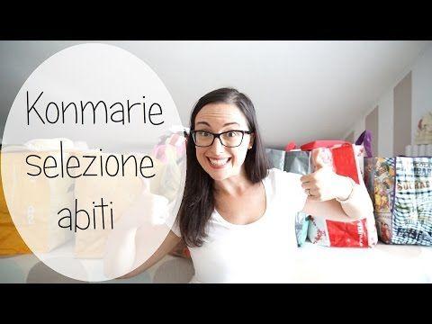 Selezione abiti - Marie Kondo - YouTube